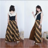 Spesifikasi Celana Kulot Panjang Batik Wanita Jumbo Long Pant Aulia Yg Baik