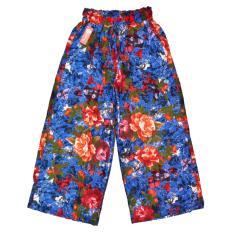 Celana Kulot Panjang Motif Bunga NZ Celana Kulot Katun Dewasa- MerahIDR65000. Rp 65.000