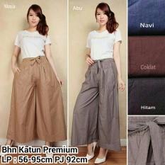 Beli Celana Kulot Panjang Wanita Jumbo Long Pant Elita Mocca Celana Kulot Dengan Harga Terjangkau