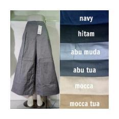 Jual Celana Kulot Polos Abu Tua Kulot Murah Kulot Bagus Kulot Katun Jawa Barat Murah