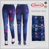 Berapa Harga Celana Legging Jeans Flower Sorex 6692 Di Indonesia