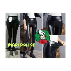 Perbandingan Harga Celana Legging Semi Latex Black Hitam Import Highwaist Di Indonesia