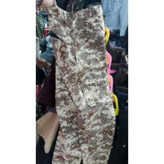 Celana Loreng Gurun Digital Panjang - Slit6l