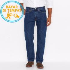 Celana Murah Jeans Regular Pria Blue Wash (Biru Classic)