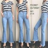 Toko Celana Pakaian Bawahan Wanita Fashionable Vr Celana Pocket Cutbray Online