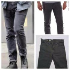 Spesifikasi Celana Panajang Pria Warna Abu Abu Yg Baik