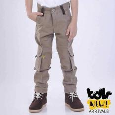 Celana Panjang Anak Laki-Laki Cowok Warna Krem  T 4032 TR