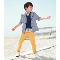 Jual Celana Panjang Anak Laki Laki Model Skinny Formal Celana Anak Casual Slim Fit Tanpa Merk Grosir