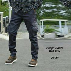 Review Celana Panjang Cargo Abu Di Jawa Barat