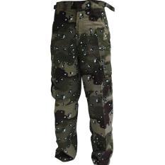 Celana Panjang Cargo Army Loreng Doreng Gurun Batu Bigsize - Bb5dc3