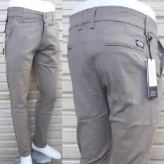 Celana Panjang Cino Pria Bahan Cotton Twill Strecth Melar Swiding Halus Slim Fit Bagus Murah Dki Jakarta
