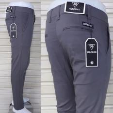 Celana panjang cino pria model slim fit bahan cotton mona strecth/melar bagus murah