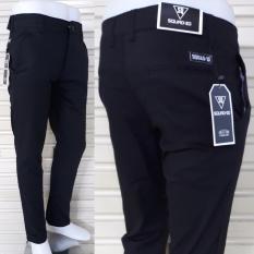 Celana panjang cino pria slim fit bahan cotton mona strecth bagus murah