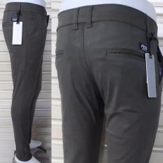 Spesifikasi Celana Panjang Cino Pria Slim Fit Bahan Cotton Twil Strecth Melar Lembut Bagus Murah Online