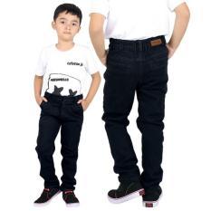 Celana Panjang Denim Anak Laki-Laki Cowok Warna Hitam CBE 105 CR