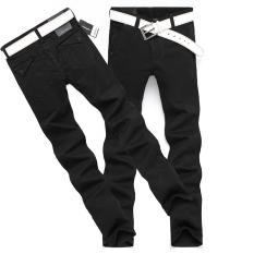 Review Pada Celana Panjang Pria Membentuk Tubuh Ukuran Besar Hitam