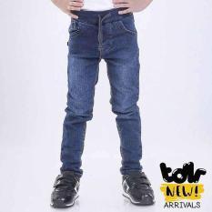 Celana Panjang Jeans Denim Anak Laki-Laki Cowok Biru T 4020 TR