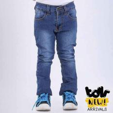 Celana Panjang Jeans Denim Anak Laki-Laki Cowok Biru T 4090 TR
