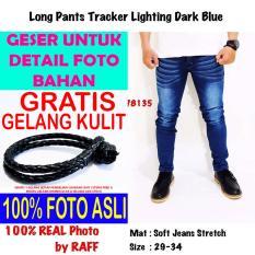Spesifikasi Celana Panjang Jeans Denim Wash Biru Royalvip Pria Cowok Bagus Murah Premium Import Promo Gratis K