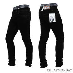 Celana Panjang Jeans Skinny Pensil Cheap Monday - Hitam (Black)