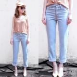Celana Panjang Jeans Wanita Boyfriend Plain Muda Diskon Dki Jakarta