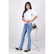 Celana Panjang Jeans Wanita Cutbray Bio Blitz Polos