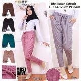 Harga Celana Panjang Jumbo Wanita Long Pant Tiara Coklat Celana Banten
