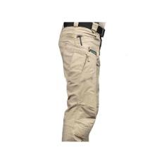 Celana Panjang Pria Cargo Blackhawk JUMBO 40-44 Krem Muda