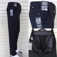 Celana Panjang Pria Formal Kerja Model Slimfit Bahan Gabardin Bagus Murah Asli