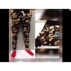 Celana Panjang Pria Joger Kargo Dc Army - 57C3E7
