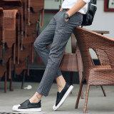 Harga Celana Panjang Pria Pinggang Sedang Bahan Katun Gaya Korea Abu Abu Lengkap