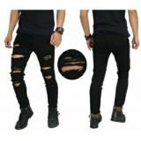 Toko Celana Panjang Super Skinny Robek Black Terlengkap Dki Jakarta