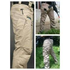 Celana Panjang Tactical Blackhawk Polisi Ganteng Cream - 36Beda