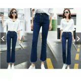 Jual Celana Panjang Wanita Cutbray Jeans Impor Branded Original