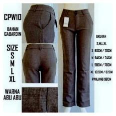 Berapa Harga Celana Panjang Wanita Standar Warna Abu Abu Di Dki Jakarta