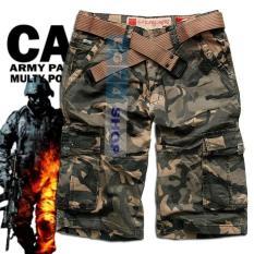 Ulasan Celana Pendek Cargo Army Celana Pendek Loreng Celana Kargo Ce96E6