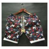 Jual Celana Pendek Casual Pria Branded Mofif Brush Multicolor Cpd0479 Dki Jakarta Murah