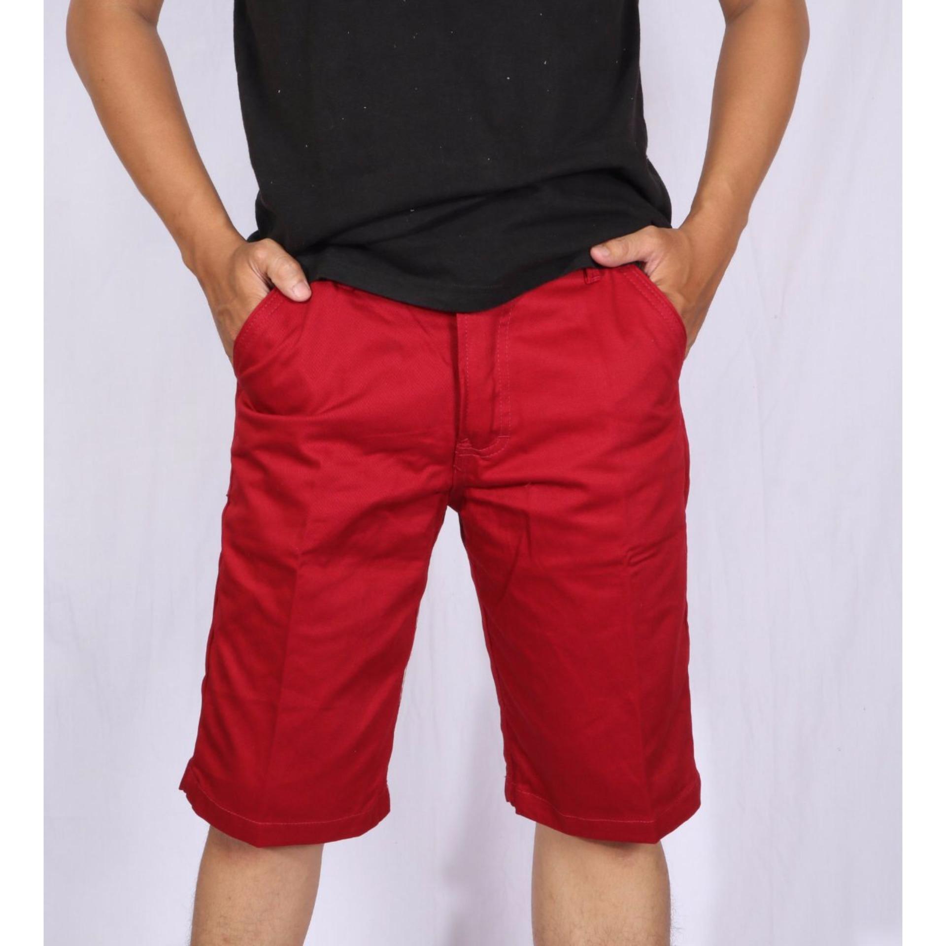 Gudang Fashion Celana Pantai Motif Keren Dan Gaul Ungu Kombinasi3 Pendek Distro Pria Polyester Multi Colour Cln 736 Casual Cino Murah Berkualitas Premium Merah Bata
