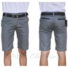 Celana Pendek Chino/Chinos Pria/Cowok - Krem(Cream)/Hitam(Black)/Abu(Grey)