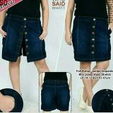 Review Celana Pendek Hotpants Jeans Wanita Jumbo Short Pant Button Banten