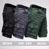 Celana Pendek Kargo Abu Hitam Ijo Armi Terbaru Celana Murah Di Indonesia