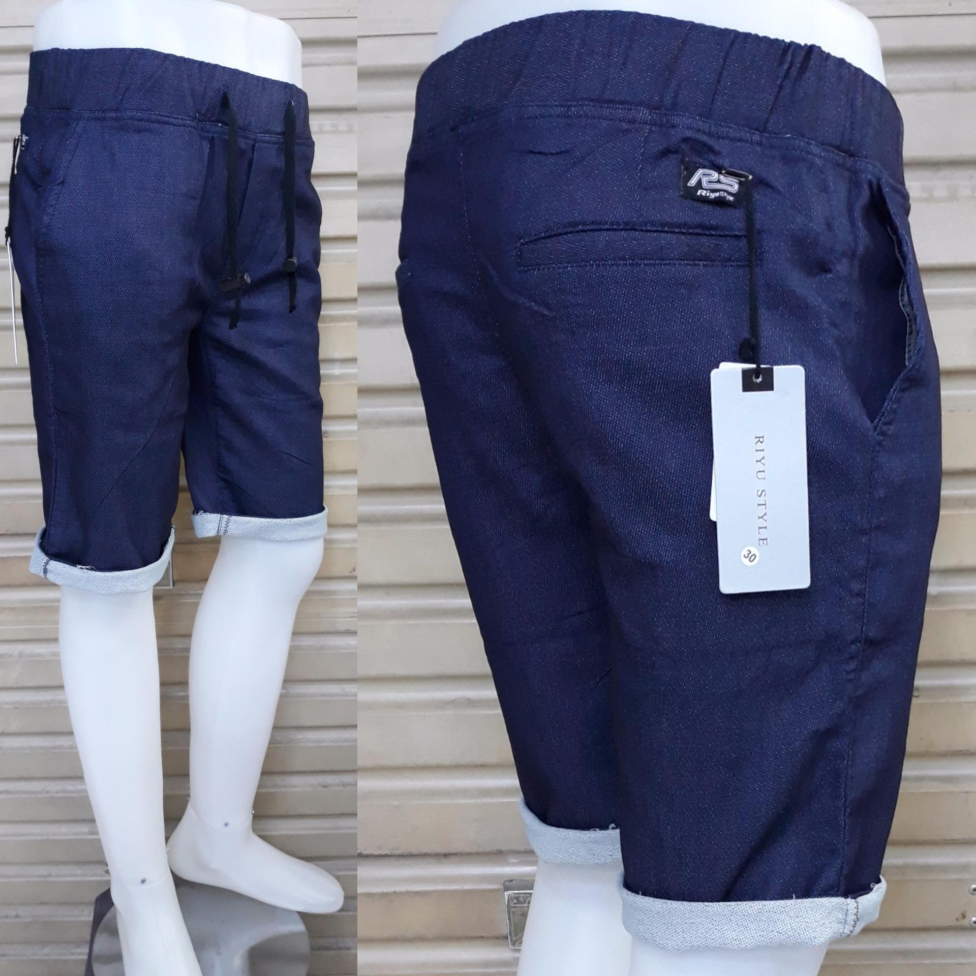 Produk Terlaris Bhl Celana Cargo Pendek Pria Hitam Info Harga Fashion Cocok Untuk Santai Pinggang Karet Bahan Denim Reguler Bagus Murah