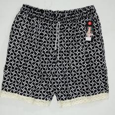 celana pendek wanita hot pants short renda lace