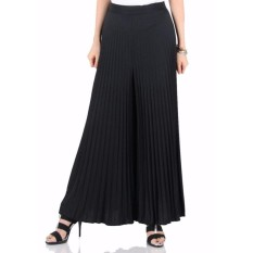 Beli Celana Plisket Kulot Panjang Wanita Jumbo Long Pant Amanda Celana Kulot Asli
