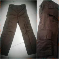 Celana Pramuka Cargo Sz 29-30-31-32 PDL Panjang SMP SMA