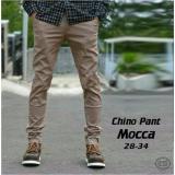 Harga Celana Pria Chino Panjang Cream Mocca Premium Baru