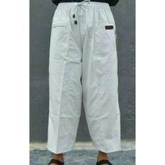 Celana Pria Laki-Laki Panjang Cargo Bahan Katun Sirwal Jumbo Asli - Ujomdz