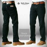 Harga Celana Pria Cowok Regular Standard Jeans Denim Hitam Black Celana Jeans Panjang Big Size Besar Jumbo North Siberian Dan Spesifikasinya