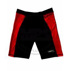 Jual Celana Renang Speedo Athletic Hitam Merah Satu Set