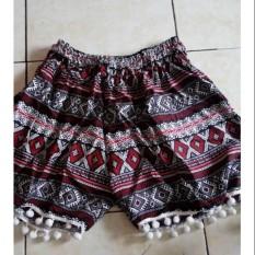 Celana Renda Bulat Pentol Rayon Bali